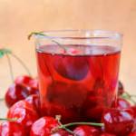 cherry juice photo